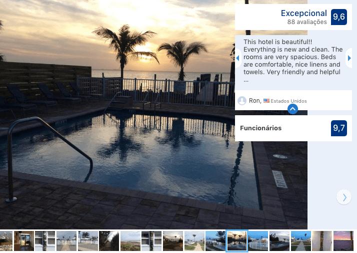 Hotéis de luxo em Cocoa Beach: Hotel Lost Inn Paradise