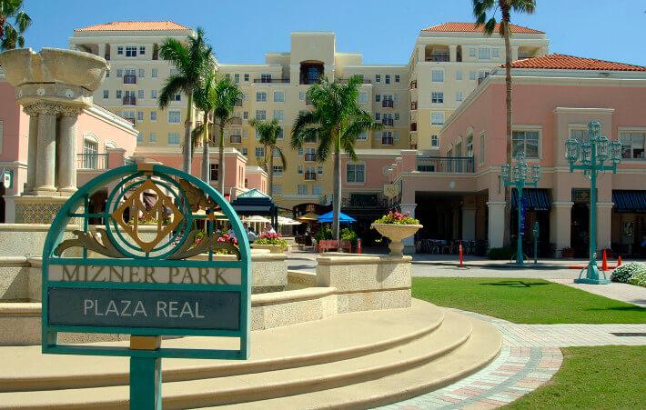 Compras em Boca Raton: shopping Mizner Park