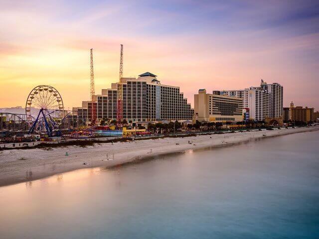 Pontos turísticos em Daytona Beach