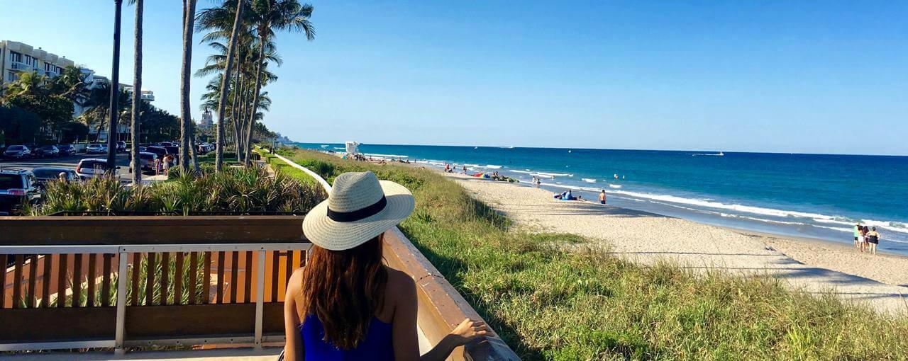 Praias em Palm Beach