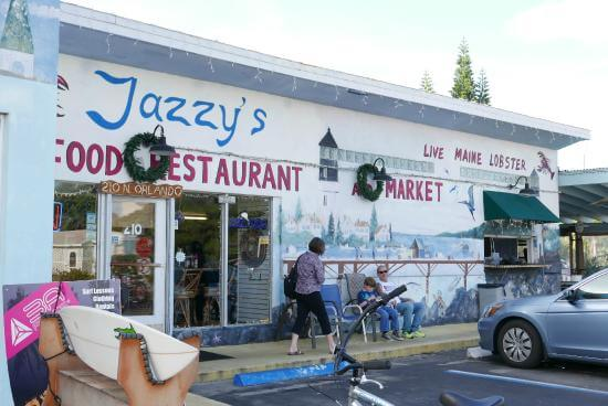 Restaurantes em Cocoa Beach: restaurante Jazzy's Mainely Lobster & Seafood Company