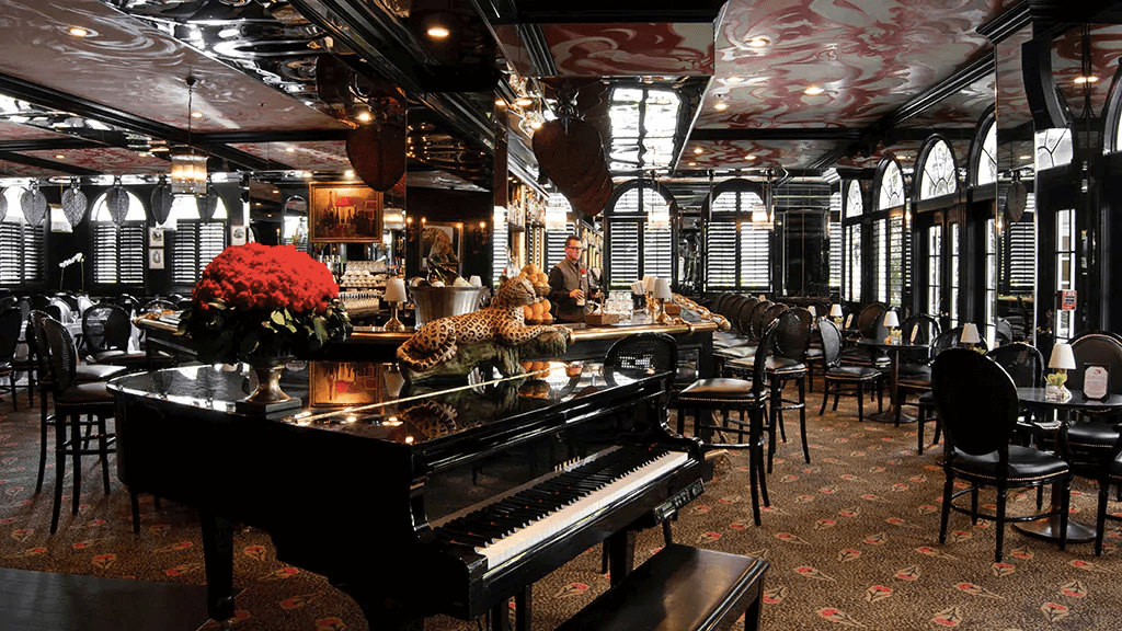 Restaurantes em Palm Beach: restaurante Leopard Lounge