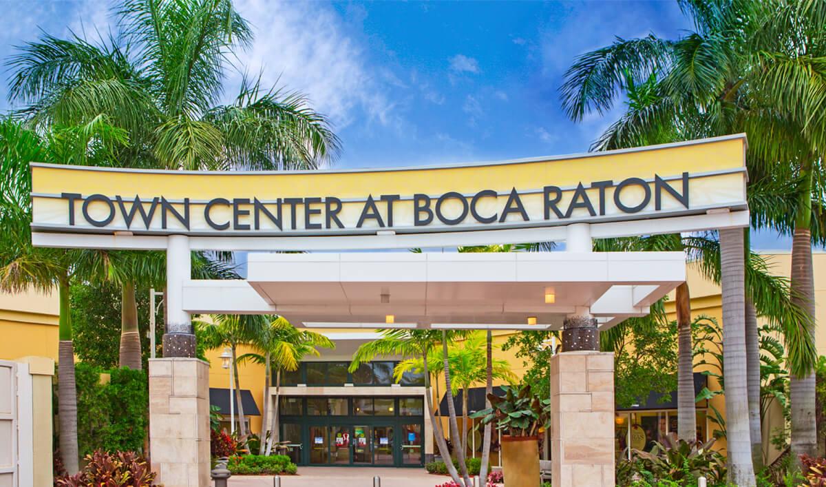 Compras em Boca Raton: shopping Town Center at Boca Raton