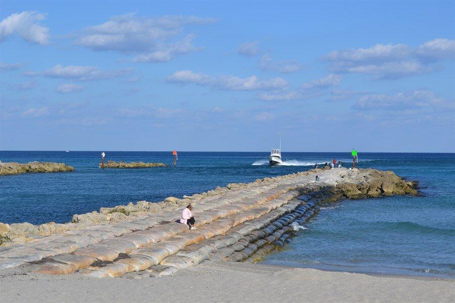 Praias em Boca Raton: South Inlet Park