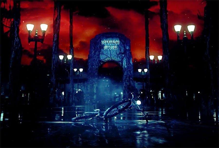 Atração de Stranger Things no Halloween da Universal Orlando em 2019: parque Universal Studios