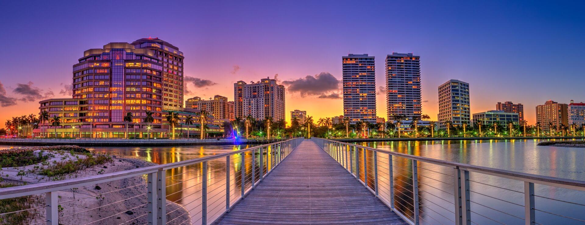 Como enviar dinheiro para os Estados Unidos: West Palm Beach