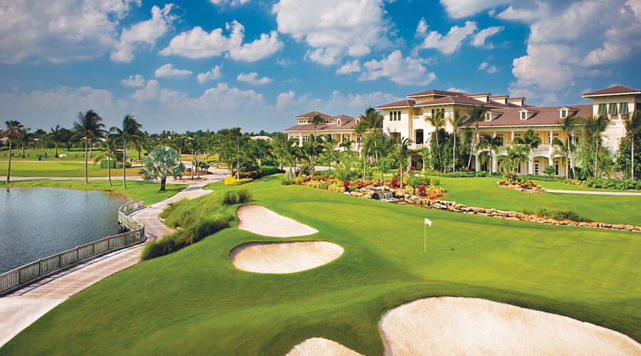 O que fazer em Boca Raton: golfe em Woodfield Country Club