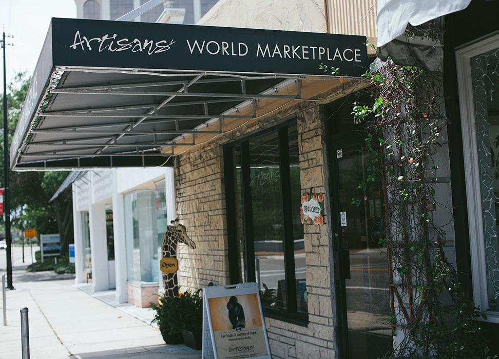 Compras em Sarasota: Artisan's World Marketplace