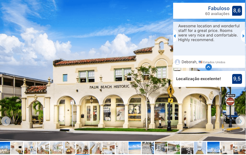 Hotéis bons e baratos em Palm Beach: Hotel Palm Beach Historic Inn