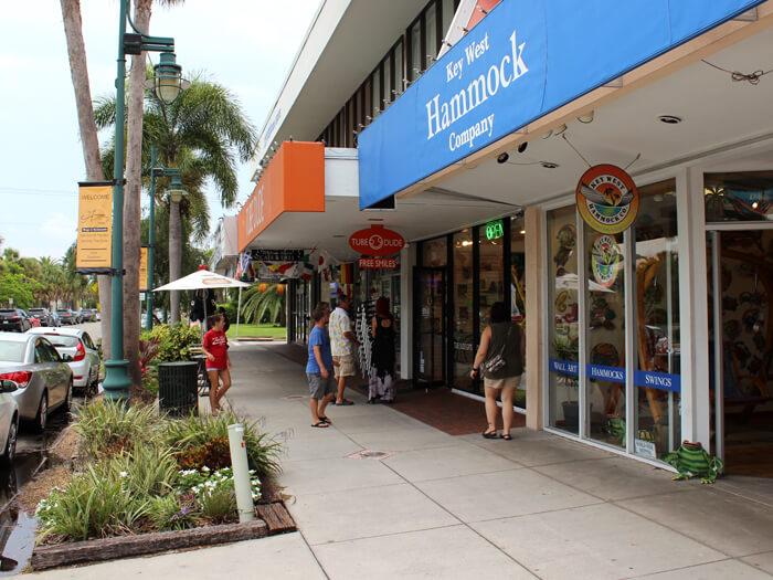 Compras em Sarasota: St. Armands Circle