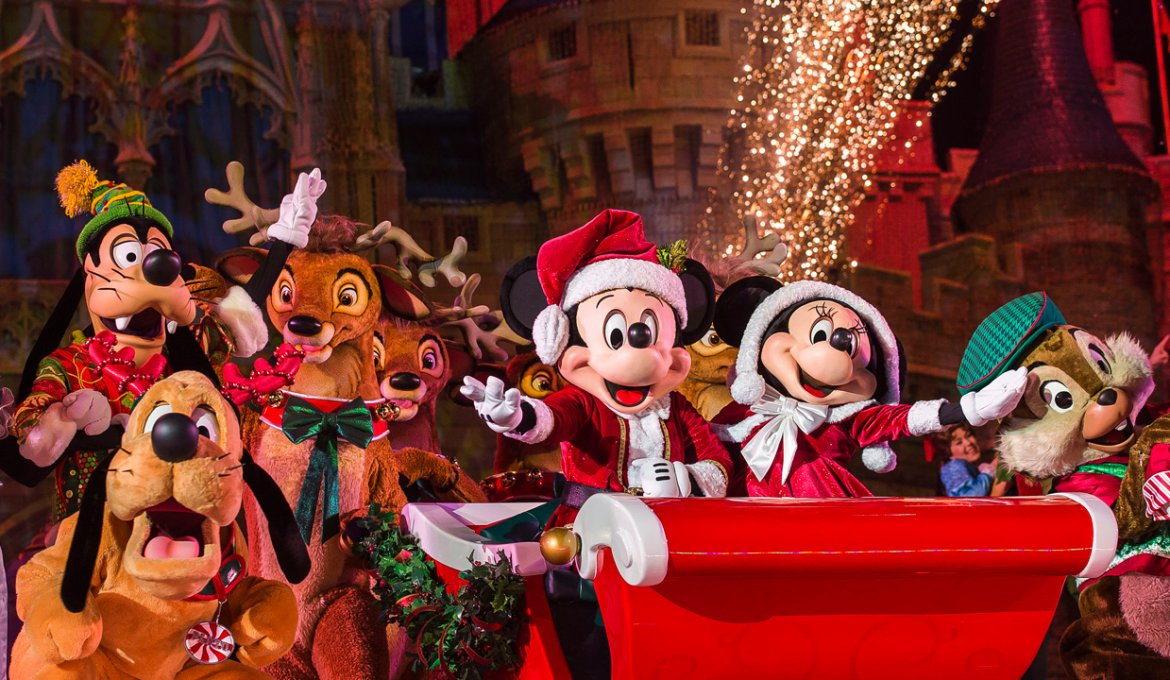 Mickey's Very Merry Christmas Party no Disney Magic Kingdom