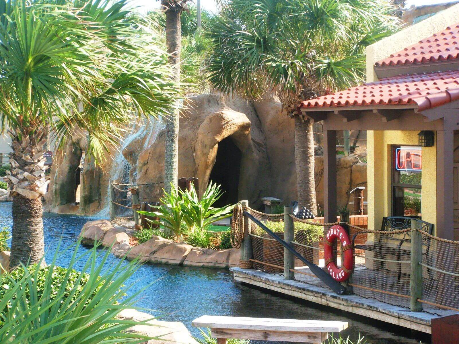 Pirate's Island Adventure Golf em Orlando: Daytona Beach Shores