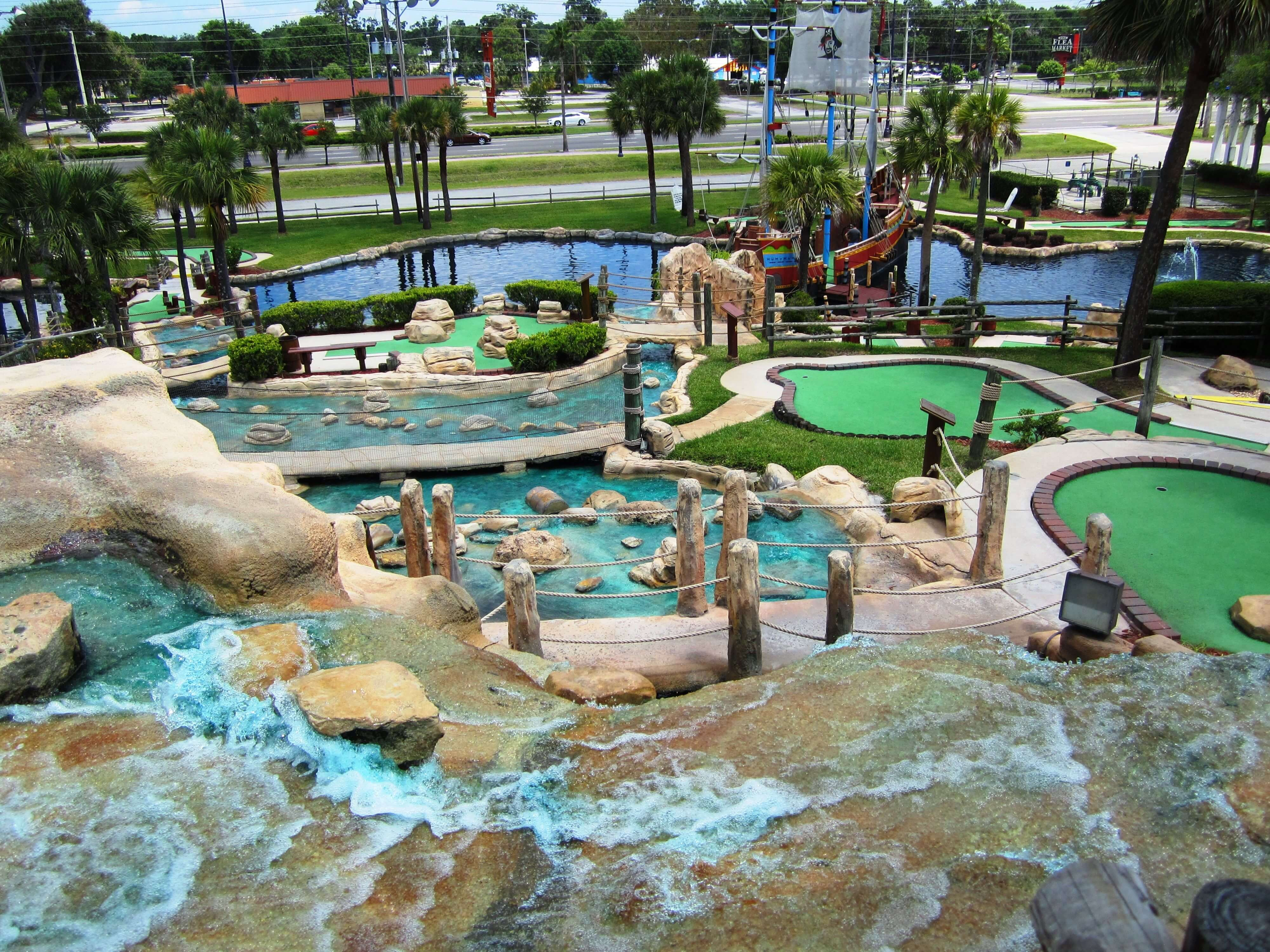 Pirate's Island Adventure Golf em Orlando: Kissimmee