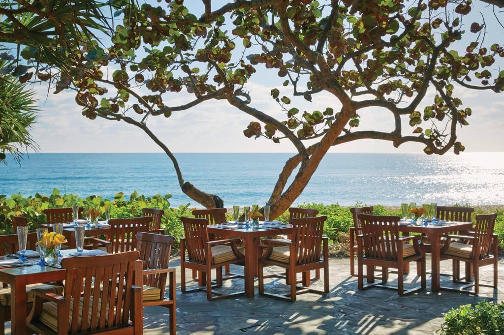 Restaurantes em Palm Beach: restaurante Atlantic Bar & Grill at The Four Seasons