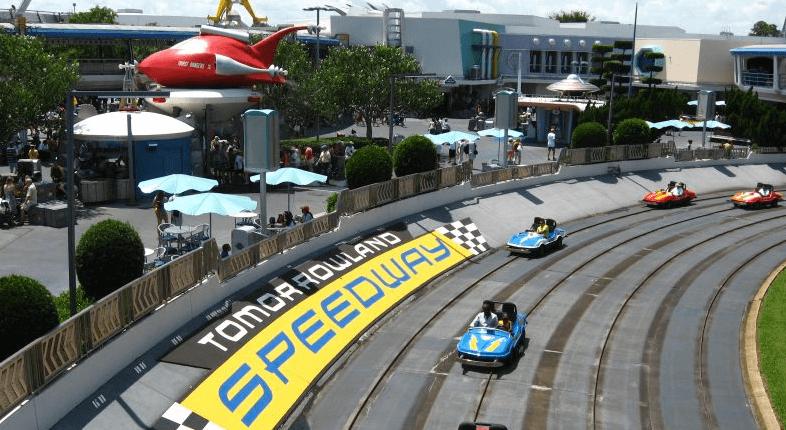 Brinquedos e atrações em manutenção em Orlando em 2019: Tomorrowland Speedway