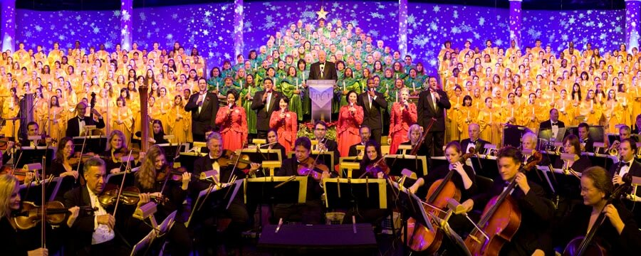 International Festival of the Holidays no Disney Epcot: Candlelight Processional