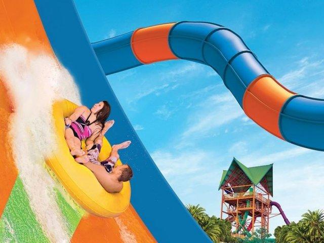KareKare Curl no parque Aquatica em Orlando