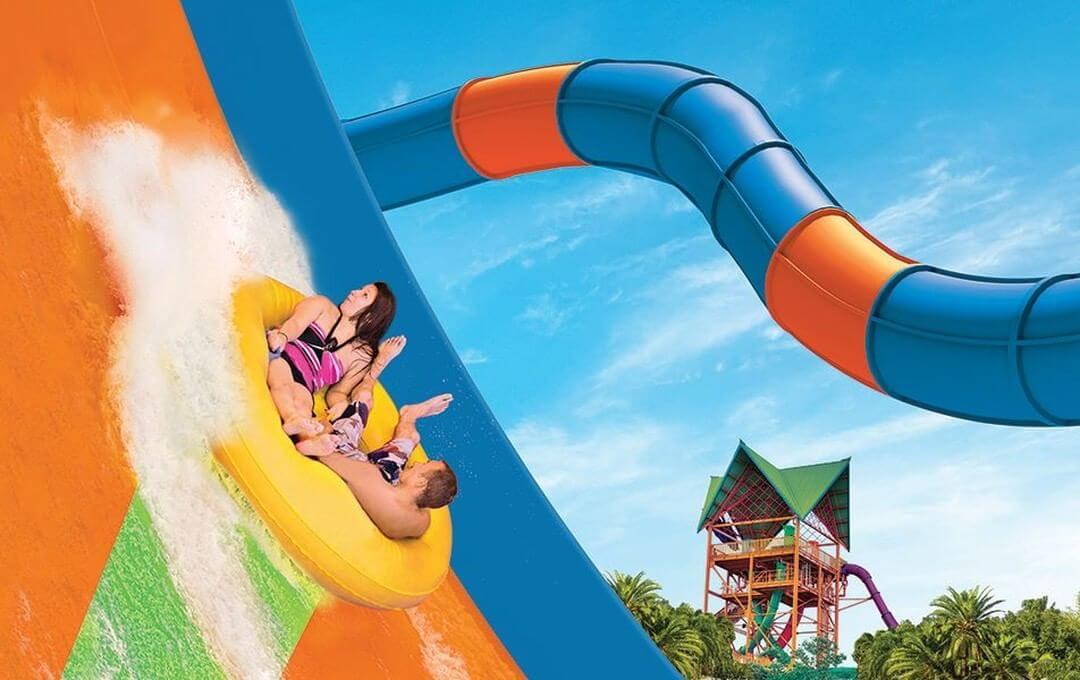 Parque Aquatica em Orlando: KareKare Curl