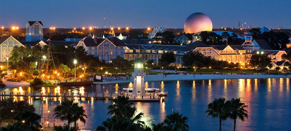 Disney's Riviera Resort em Orlando: lago