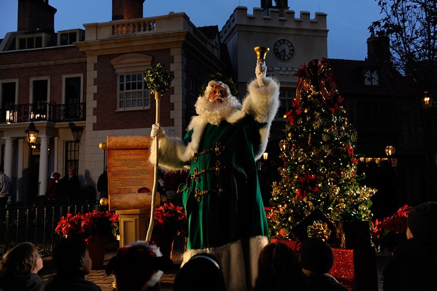 Natal na Disney Orlando em 2019: Papai Noel no International Festival of the Holidays