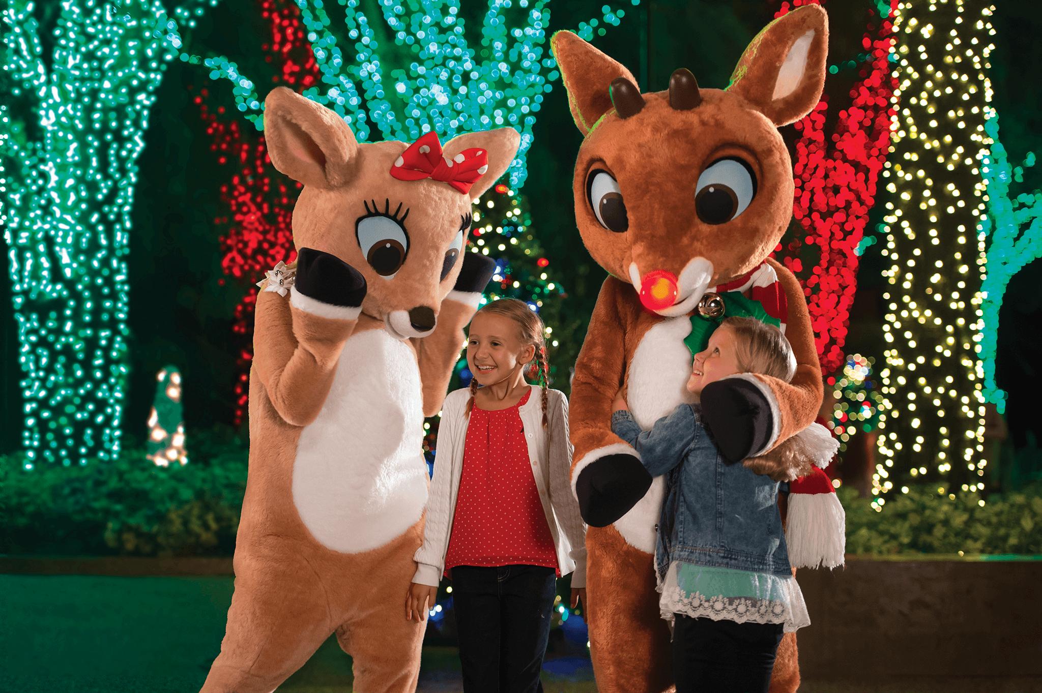 Christmas Celebration no SeaWorld Orlando: Rudolph's ChristmasTown