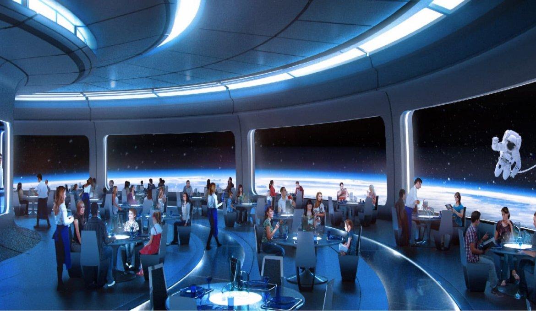 Novidades na Disney Orlando em 2019: Space Restaurant no Disney Epcot