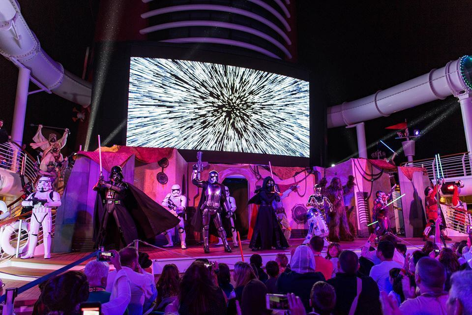 Cruzeiros temáticos da Disney Cruise Line em 2020: apresentação