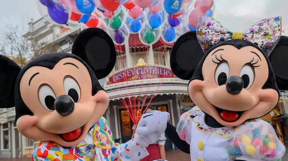 Mickey & Minnie's Surprise Celebration no Magic Kingdom da Disney Orlando