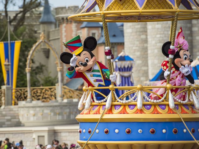 Disney Festival of Fantasy no Magic Kingdom em Orlando