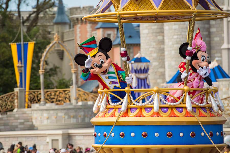 Calendário de lotação dos parques da Disney Orlando em 2020: Disney Festival of Fantasy