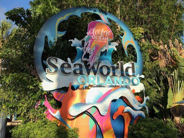 Electric Ocean no SeaWorld Orlando em 2019