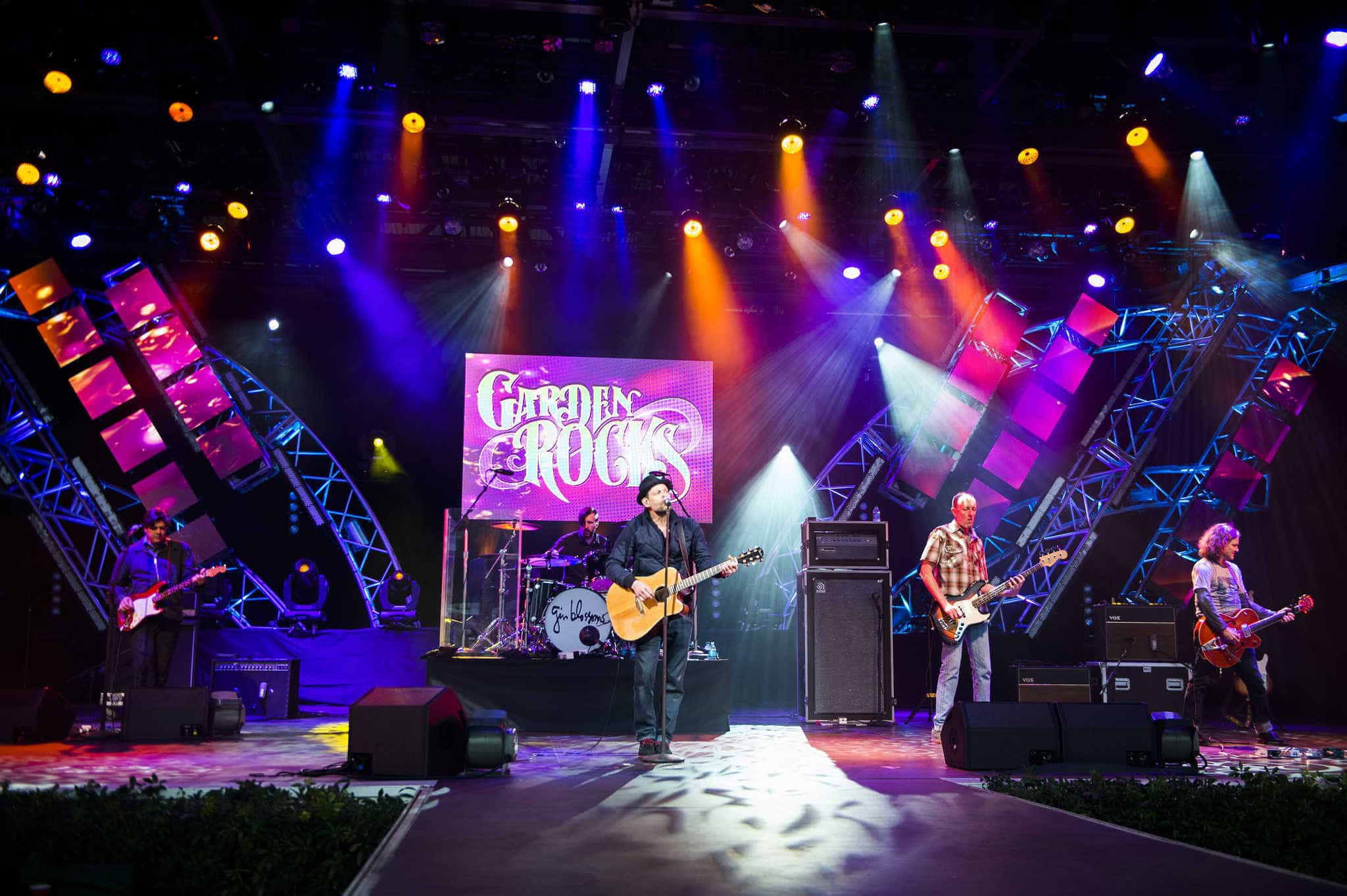 Epcot International Flower & Garden Festival 2019 na Disney Orlando: Garden Rocks Concert Series