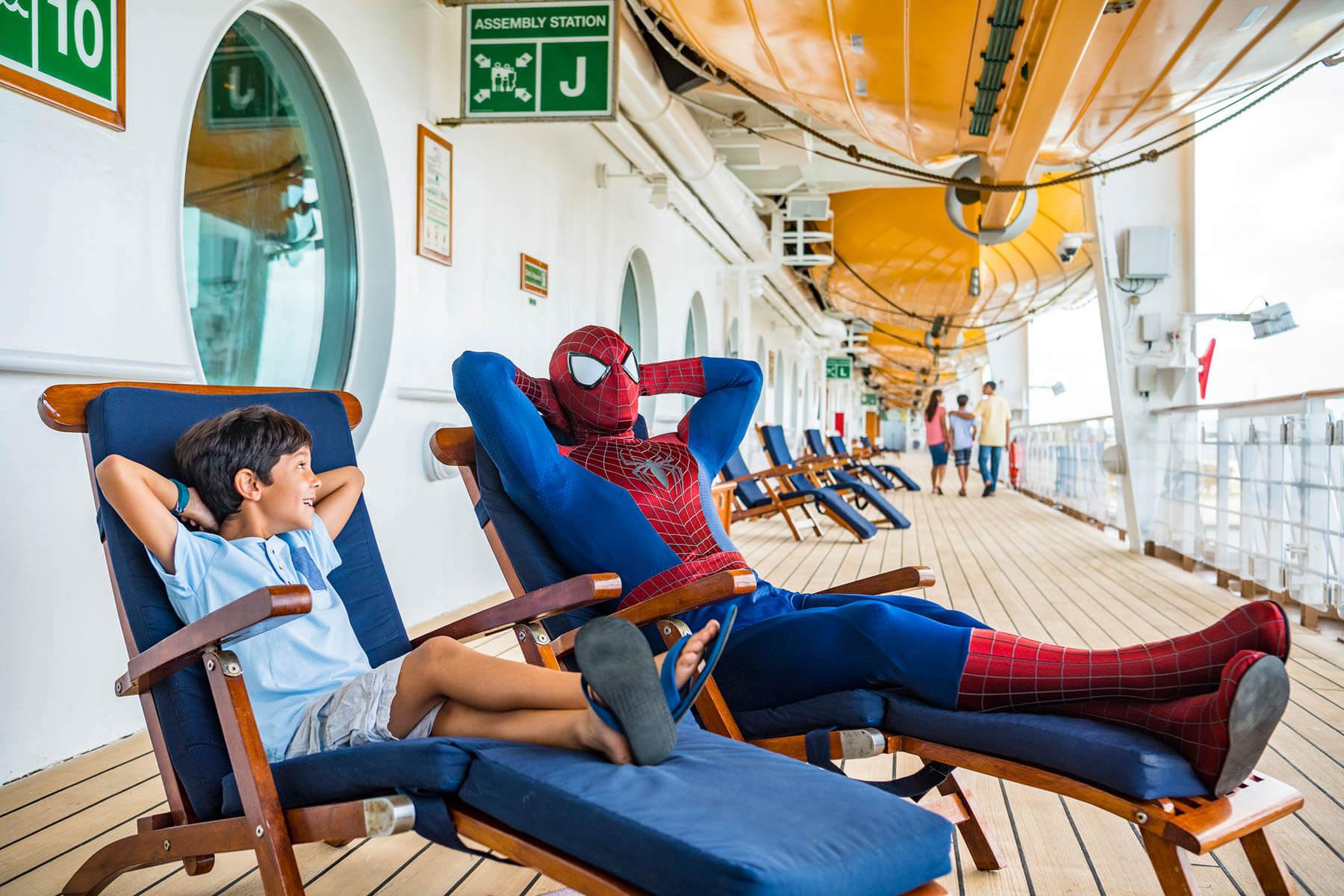 Cruzeiros temáticos da Disney Cruise Line em 2020: Homem-Aranha