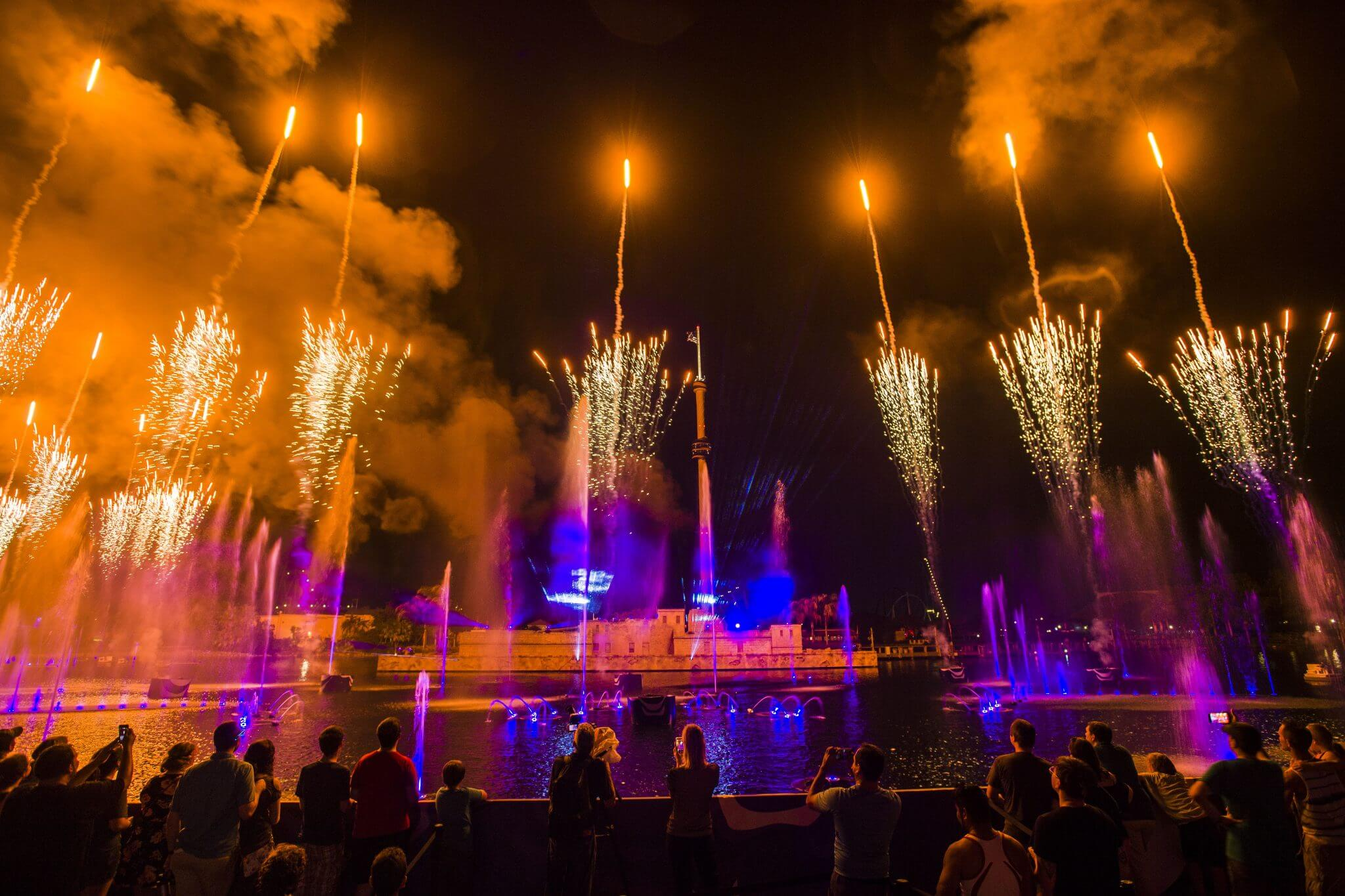 Electric Ocean no SeaWorld Orlando em 2020: Ignite
