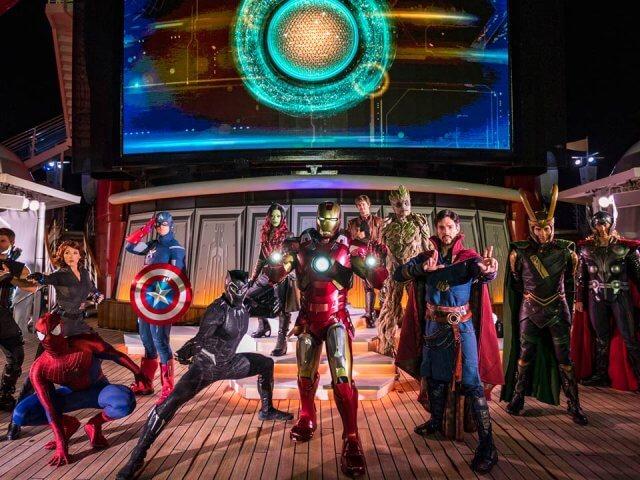 Cruzeiros temáticos da Disney Cruise Line em 2020: Marvel Day at Sea