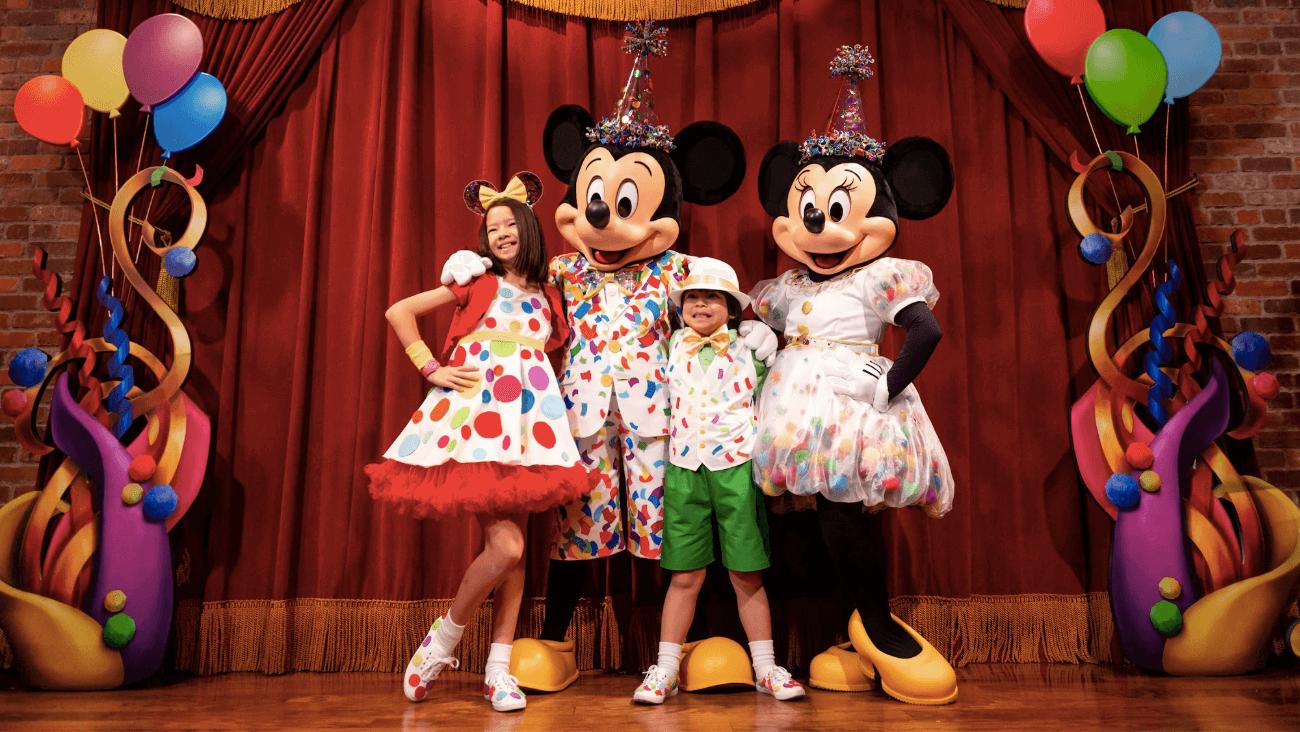 Mickey & Minnie's Surprise Celebration no Magic Kingdom da Disney Orlando: Town Square Theater