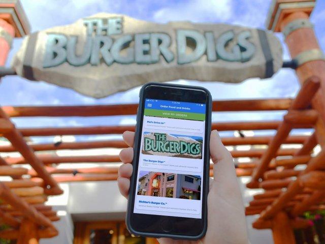 Como pedir comida pelo celular nos restaurantes da Universal Orlando