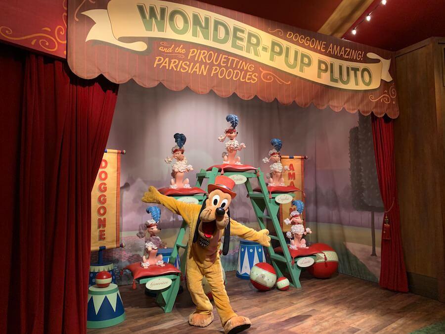 Mickey & Minnie's Surprise Celebration no Magic Kingdom da Disney Orlando: Storybook Circus