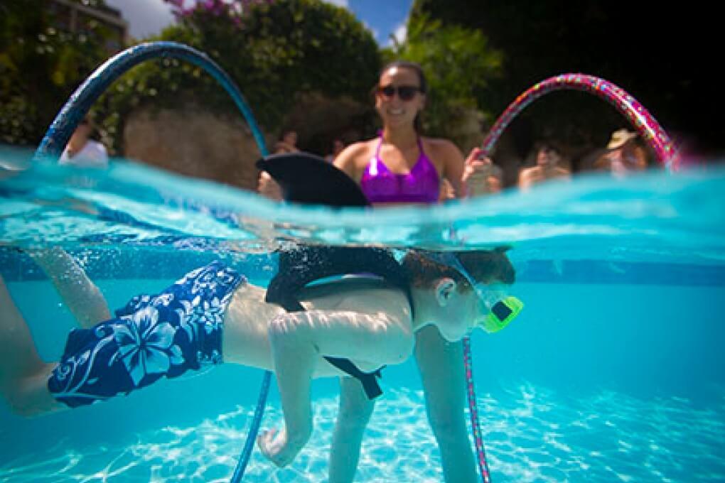 Aprenda a nadar como uma sereia na Disney Orlando: atividades