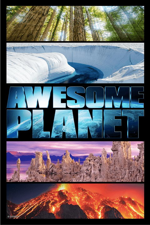 "Filme ""Awesome Planet"" no Epcot da Disney Orlando"