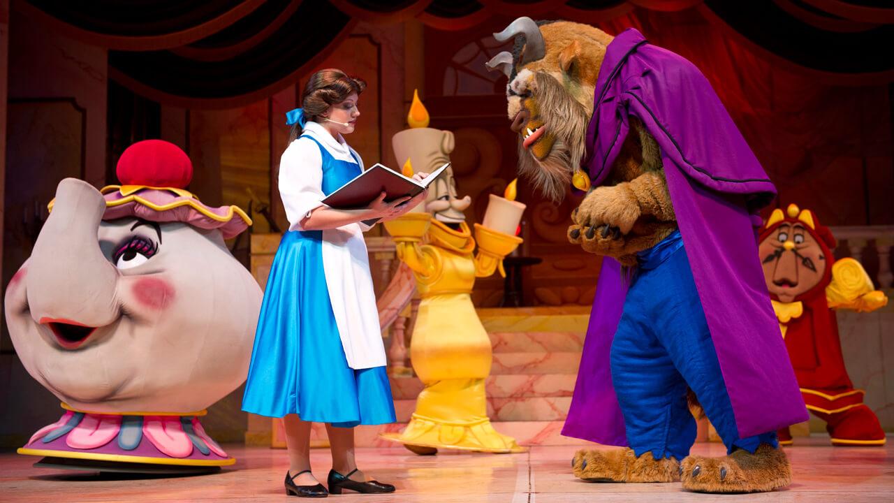 Novidades na Disney Orlando em 2020: Beauty and the Beast Sing-Along no Epcot