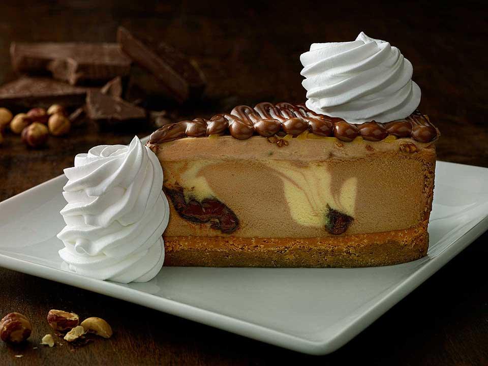 Restaurante The Cheesecake Factory em Orlando: cheesecake
