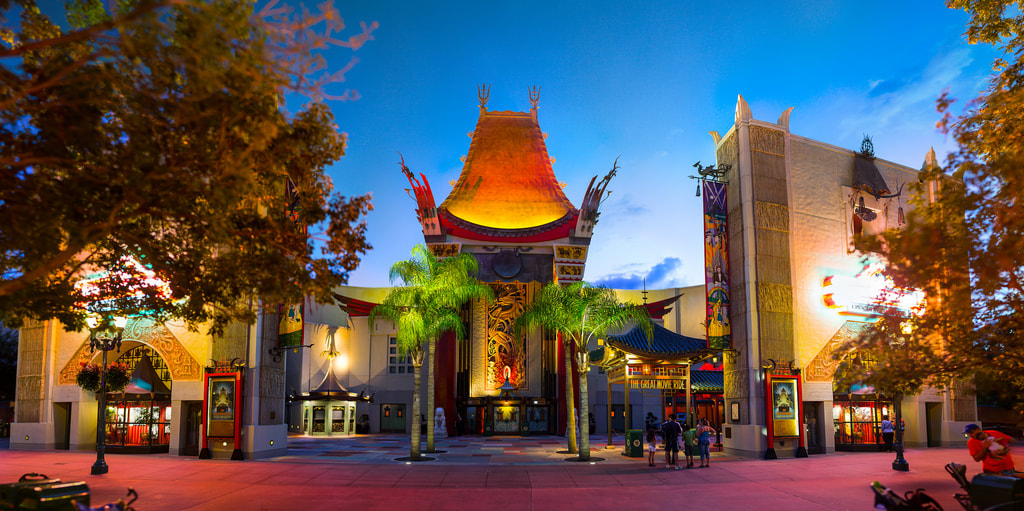 Chinese Theater no parque Hollywood Studios da Disney Orlando