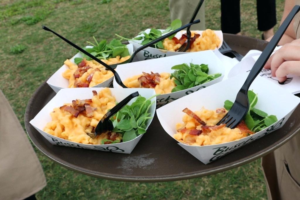Food & Wine Festival no Busch Gardens em 2019: comidas