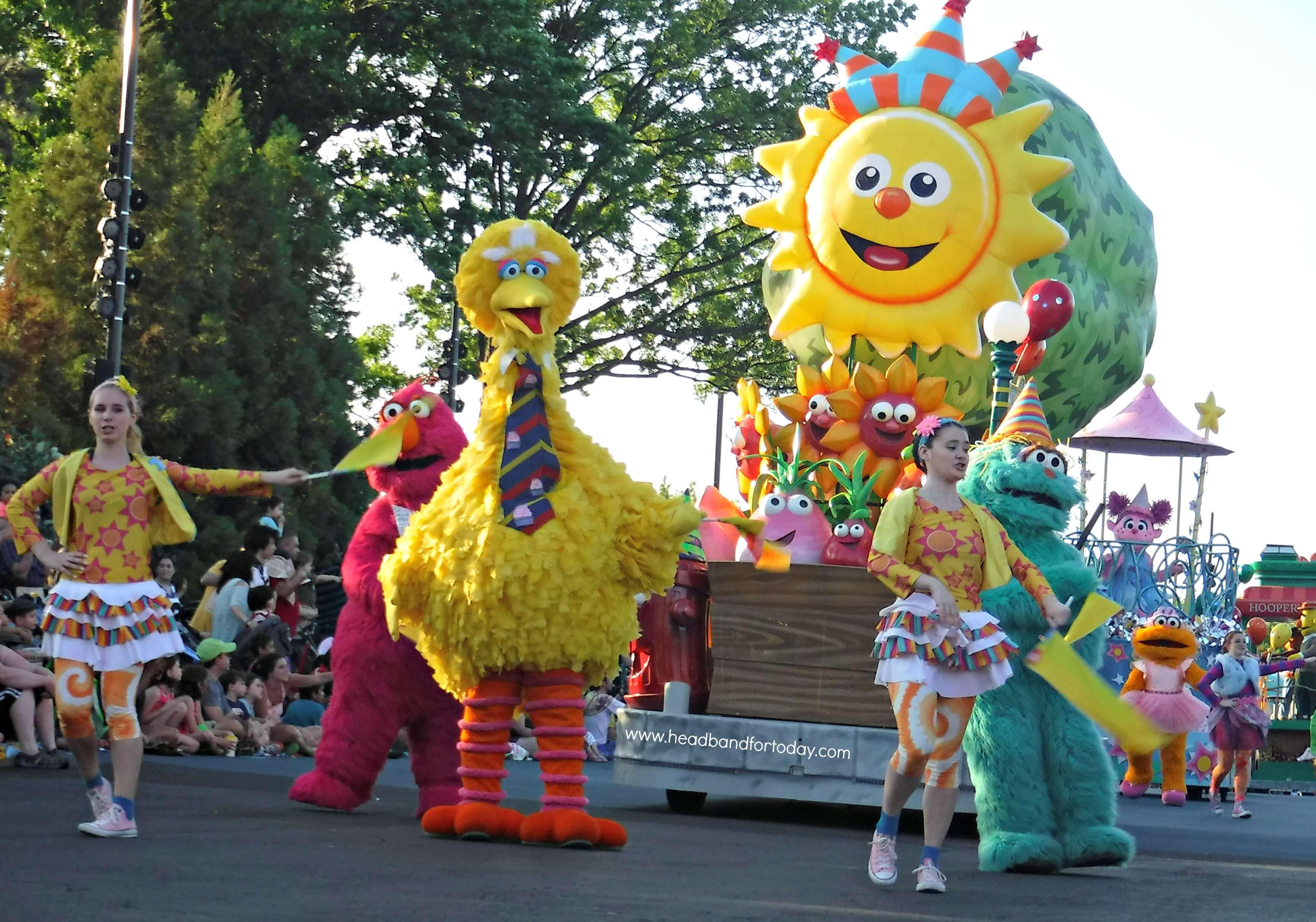 Parque SeaWorld em Orlando: Sesame Street Land