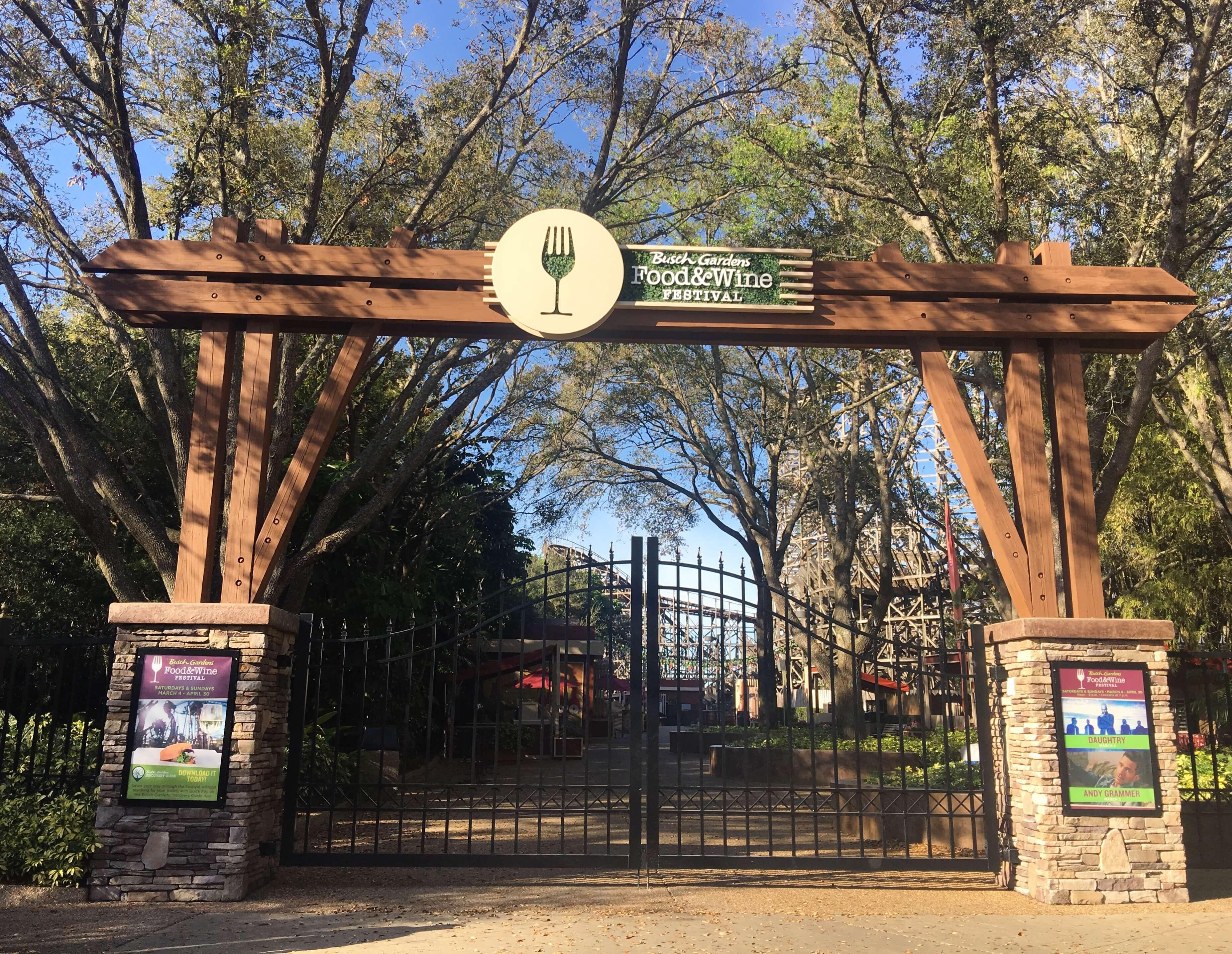 Parque Busch Gardens em Tampa: Food & Wine Festival