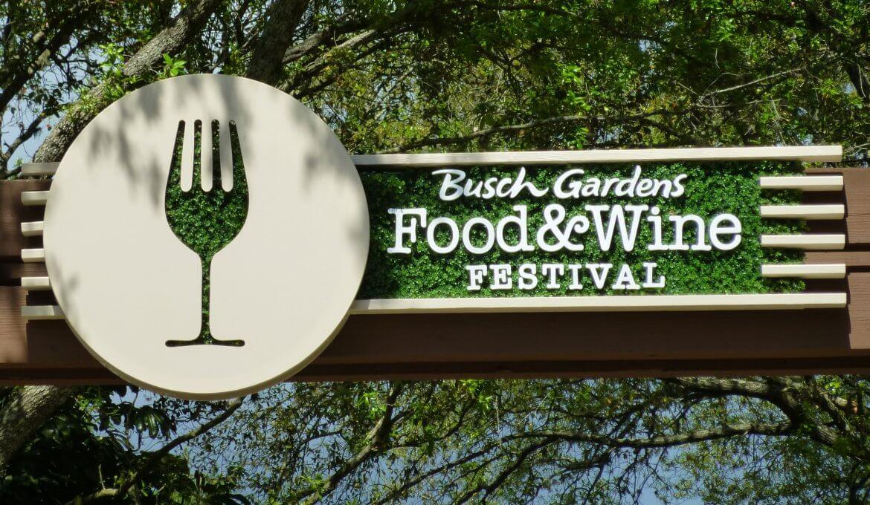 Food & Wine Festival no Busch Gardens Tampa