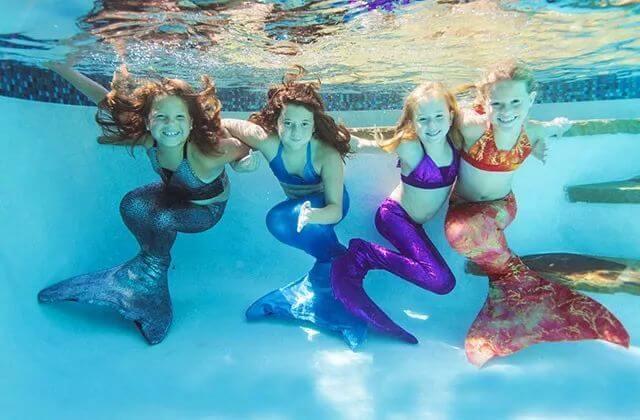 Aprenda a nadar como uma sereia na Disney Orlando
