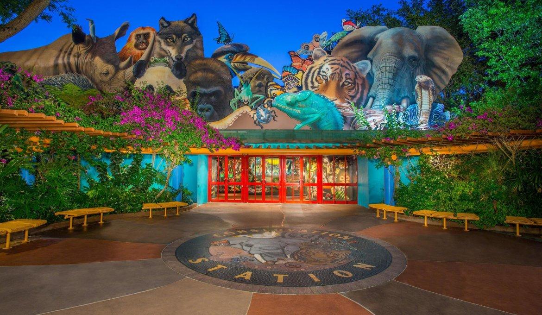 Rafiki's Planet Watch no Disney's Animal Kingdom em Orando
