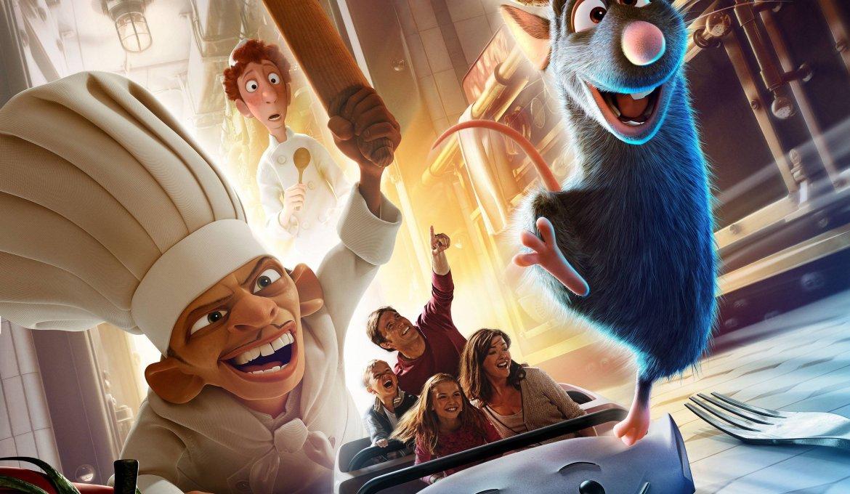 Atração de Ratatouille no Epcot da Disney Orando